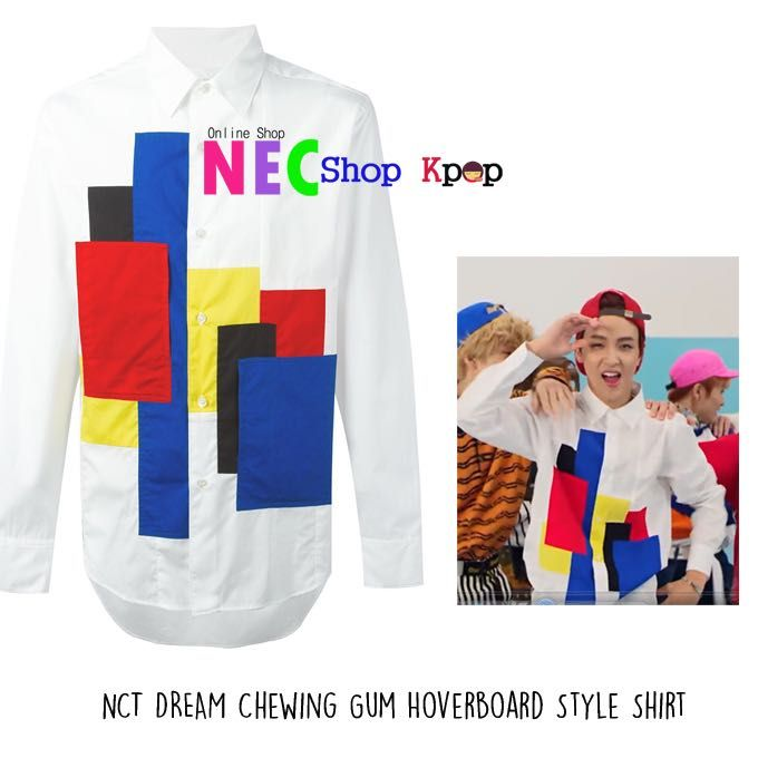 [NCT DREAM STYLE] NCT DREAM HAECHAN CHEWING GUM HOVERBOARD STYLE SHIRT | NEC Shop Kpop | FOR ORDER Line : eliansy/nelyaulia LINE@:jpz0431x(use@) whatsapp/sms : 08986516925/08996524425 BBM : 5439DDBD Facebook/page : nec shop kpop  PAYMENT : MANDIRI/BNI/WESEL POS/WESTERN UNION SHIPPING PRODUCT BY JNE/POS INDONESIA/EMS Happy Shopping Kak  we can shipping world wide ✈️ #necshopkpop #kpop #kpopstyle