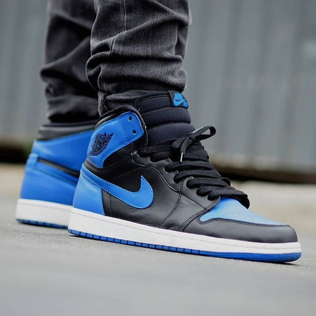A lot of Jordan 1 talk recently. Which is your pick? : Air Jordan 1 'Royal' : @shoezen.one #WDYWT for on-feet photos #WDYWTgrid for outfit lay down photos •