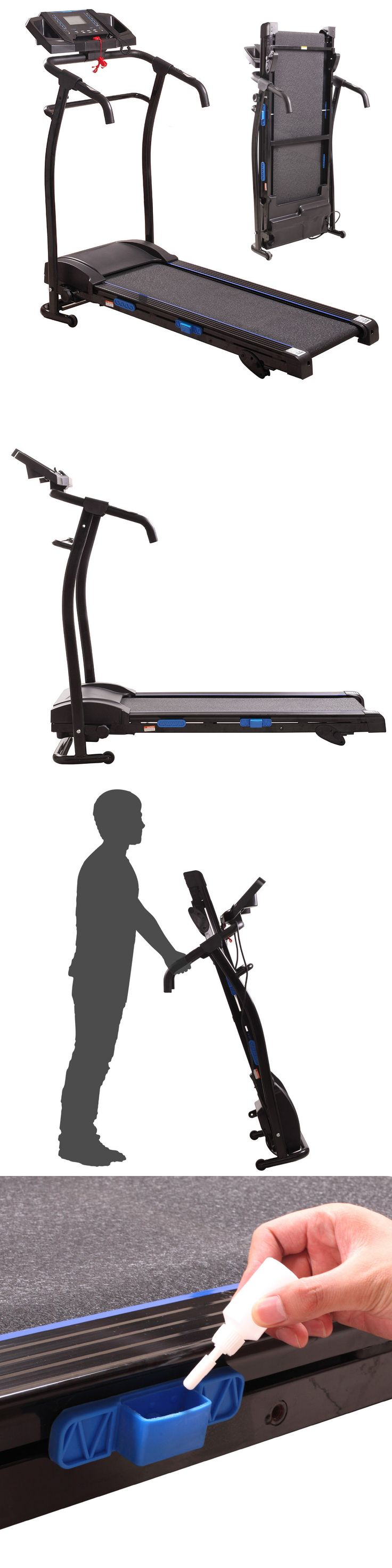 Treadmills 15280: 1500W Folding Electric Treadmill W Lcd Display Motorized Running Machine Black -> BUY IT NOW ONLY: $294.99 on eBay!