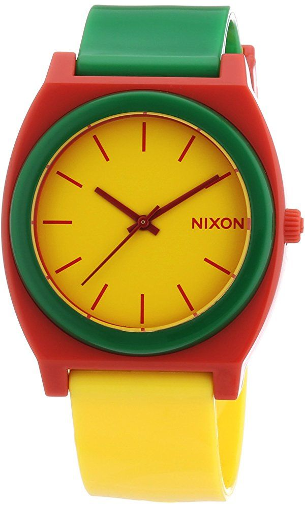 22291890f81d Nixon Rasta Time Teller Yellow Dial Mens Watch A1191114 Best Price ...