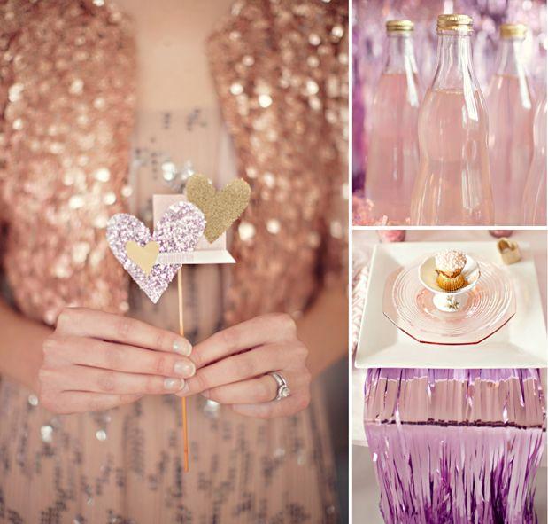 #Valentine's Glam and Glitter