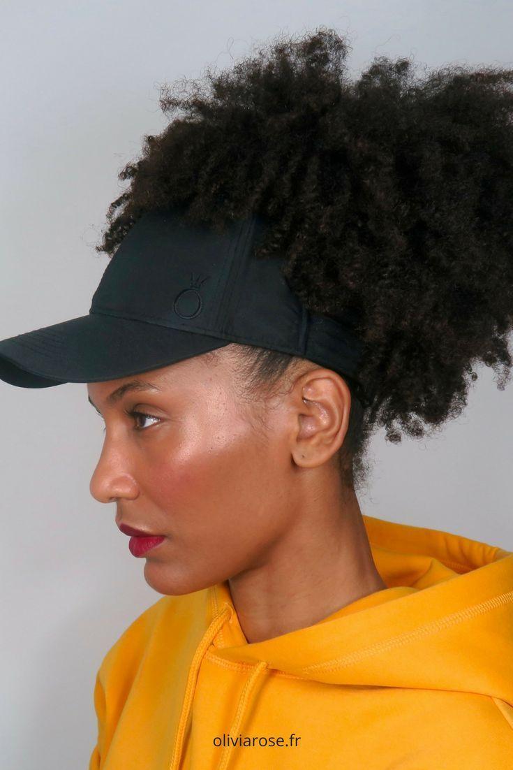 Afrocap: casquette pour cheveux Afro frisés naturels avec doublure en satin …   – OliviaRose.Fr