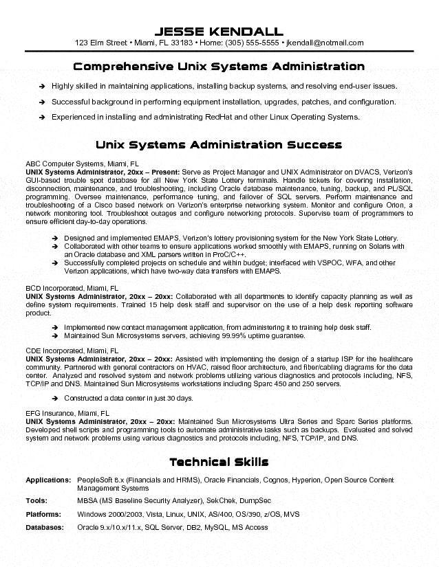 Best 25+ Administrative assistant job description ideas on - systems administrator resume