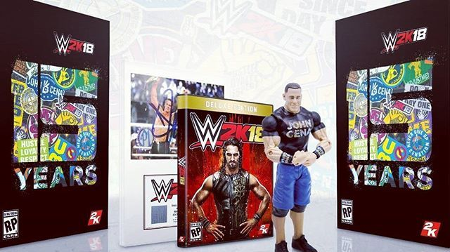 Reposting @yeswefixgadgets: WWE 2K18 Collector's Edition Revealed Featuring John Cena - IGN. Read the article at http://crwd.fr/2uGgML3 #instagamer #ps4 #gamers #videogames #xboxone #pcgames #gamers #gaming
