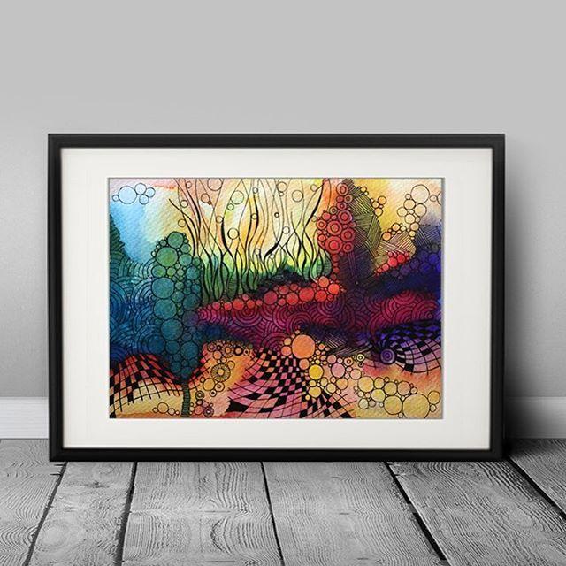 Abstract  15x21 cm (2016) www.facebook.com/AnnaLipowskaArt #annalipowska #linework #micronpen #doodle #abstract #interior #penart #decor #poster #daily_art #sketch #акварель #aquarelle #illustration #drawing #watercolor #painting #ink #art #artwork #ilustrator #artist #arte #modernart #zenart #colorful