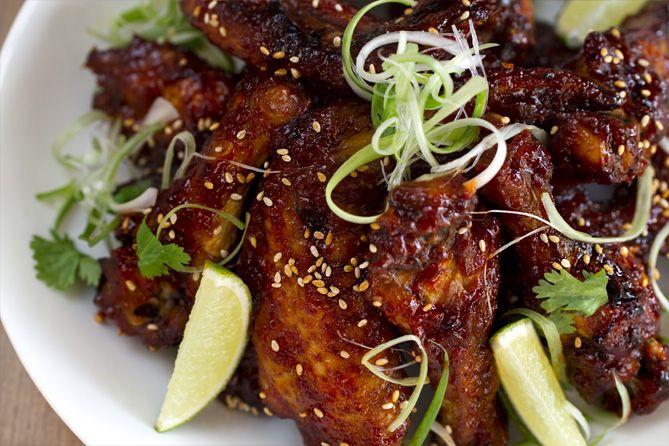 Alitas de pollo picantes (estilo Thai) | Kwan Homsai