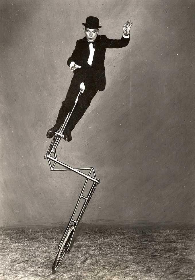 Balancing Cyclist, c. 1950