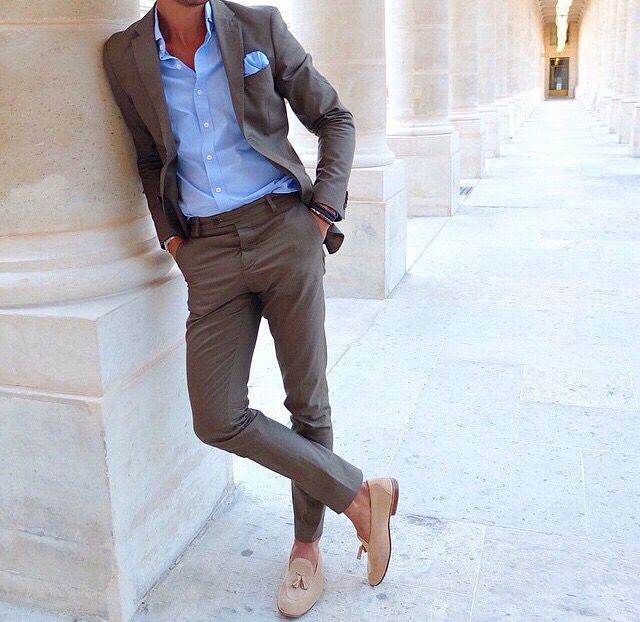 Awesome Men's Summer Style Love this semi casual summer outfit! Nice colour mix of brown and blue! Great su... Check more at http://24myshop.tk/my-desires/mens-summer-style-love-this-semi-casual-summer-outfit-nice-colour-mix-of-brown-and-blue-great-su/