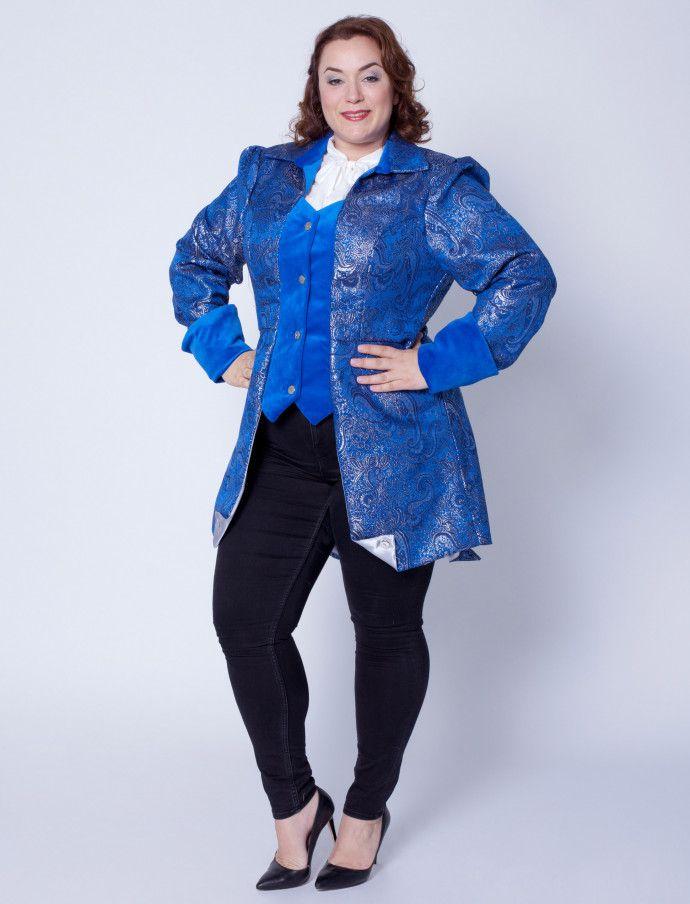 Blaues Marquise Kostüm kaufen | Deiters