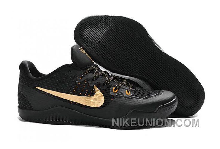 http://www.nikeunion.com/authentic-nike-kobe-11-em-black-gold-cheap-to-buy.html AUTHENTIC NIKE KOBE 11 EM BLACK GOLD CHEAP TO BUY : $68.32