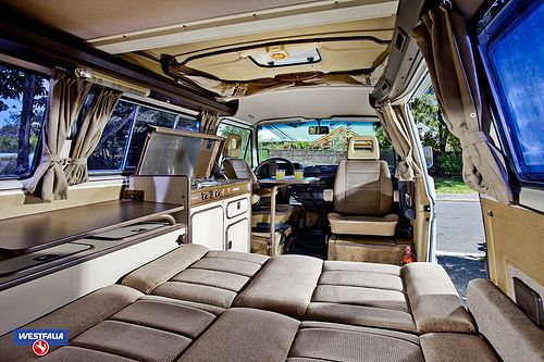 Yup...this is what the interior of our Westy looks like (colors vary slightly) - VW Westfalia 1985 | Flickr - Photo Sharing!