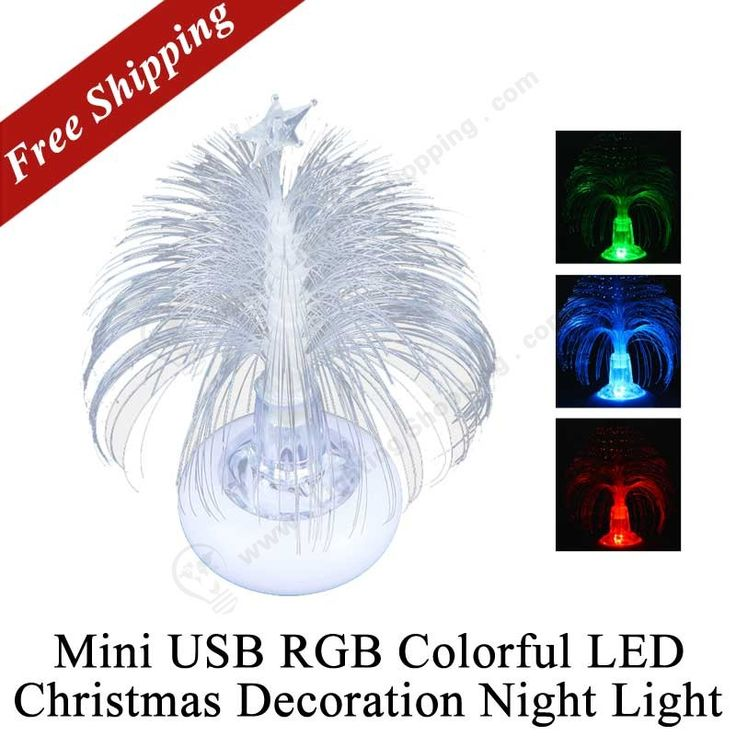 #RGB Colorful, #Night #Light, Mini USB, #LED Decoration #Light  http://www.lightingshopping.com/holiday-festival-best-gift-mini-usb-rgb-colorful-led-christmas-decoration-night-light.html