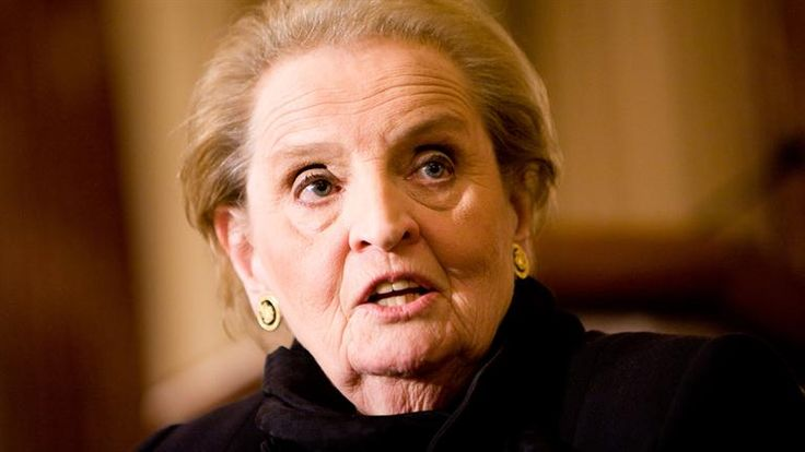 Madeline Albright - First Female Secretary of State. Source: biography.com