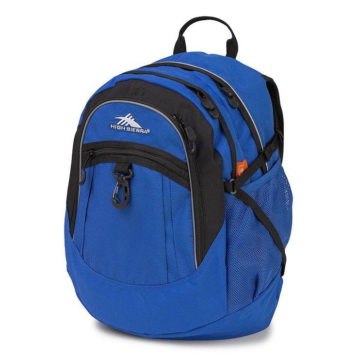 High Sierra Fat Boy Backpack, Blue