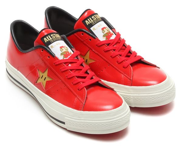 Super Mario Bros. Converse One Star Shoes
