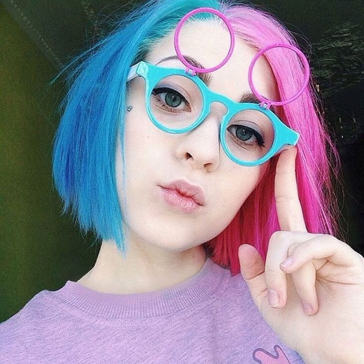 Rainbow Cat Undercut Is The Hottest New Hairstyle On Instagram Cat Hairstyle Shaved Back Head Katichka 5