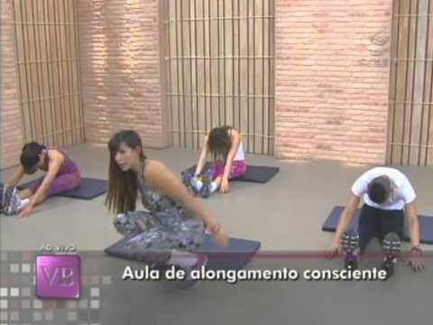 Você Bonita - Aula de alongamento consciente (26/03/13) - YouTube