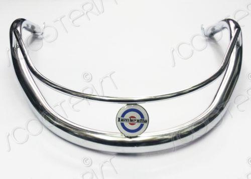 Lambretta-GP-DL-125-150-200-Front-Mudguard-Bumper-Guard-Stainless-Steel-Chrome