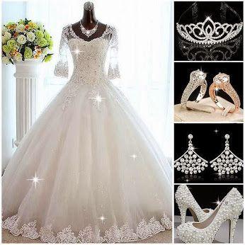 1276 best WEDDING DRESSES images on Pinterest Short wedding gowns