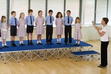 Welcome to Transtage staging systems - we provide all terrain staging systems and solutions for schools, mobile staging, outdoor, indoor, corporate, concert, church, temporary and event staging.