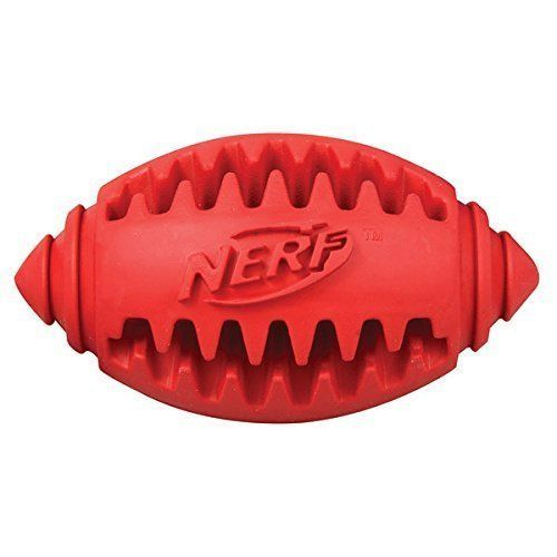 Nerf Dog Teether Football, 3.25-inch //Price: USD & FREE Shipping //     #PetOxy