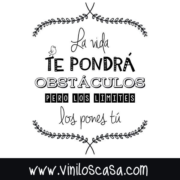 Los límites los pones tú --> www.viniloscasa.com