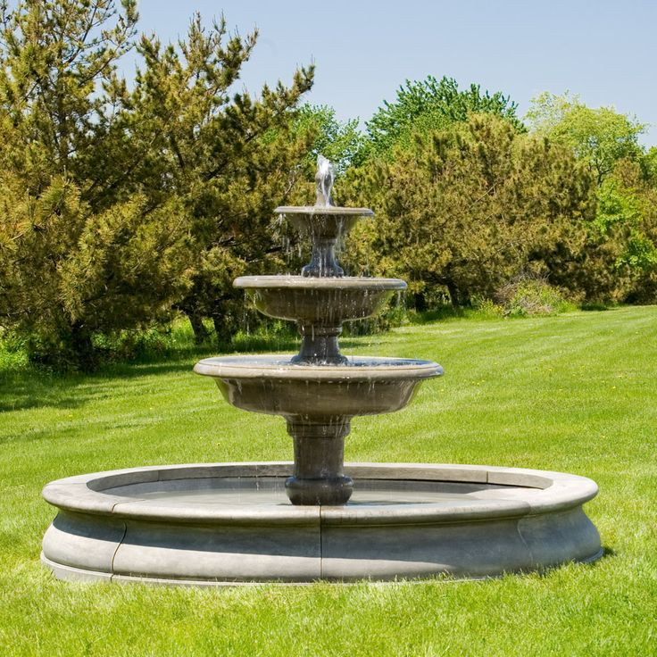 1000  images about  large estate garden fountains  on pinterest