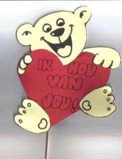 Ik hou van jou beer