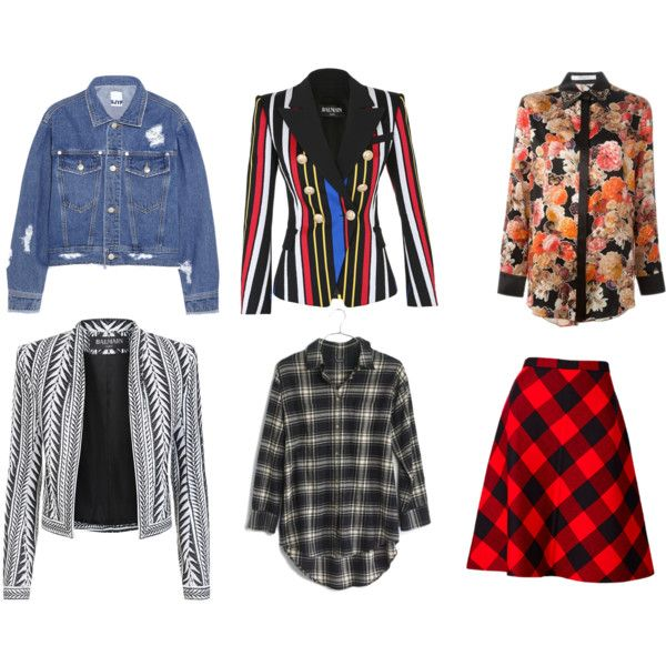 1990= by chokingly on Polyvore featuring Givenchy, Madewell, Balmain and Steve J & Yoni P