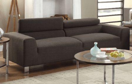 Ryall Sofa Suite in Ash Black - Chaise Sofas