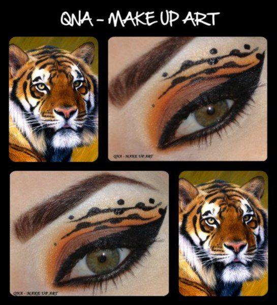24 best tiger make up images on Pinterest | Makeup, Make up and ...