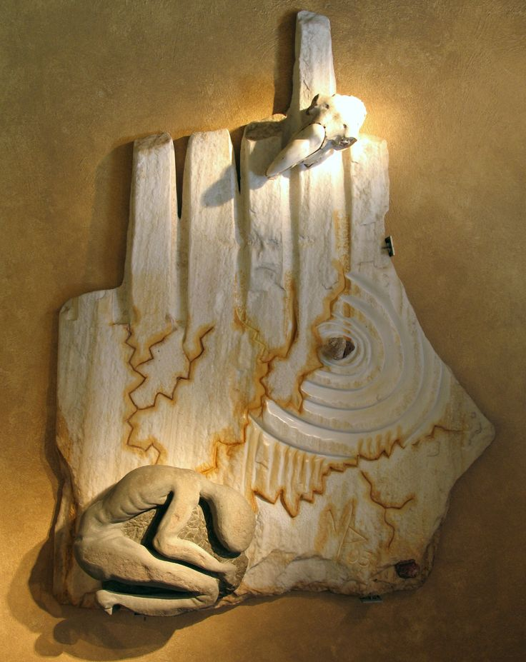 Fate (Destiny) 2005  marble sculpture by Manuel surrealist http://www.manuelmykonos.com