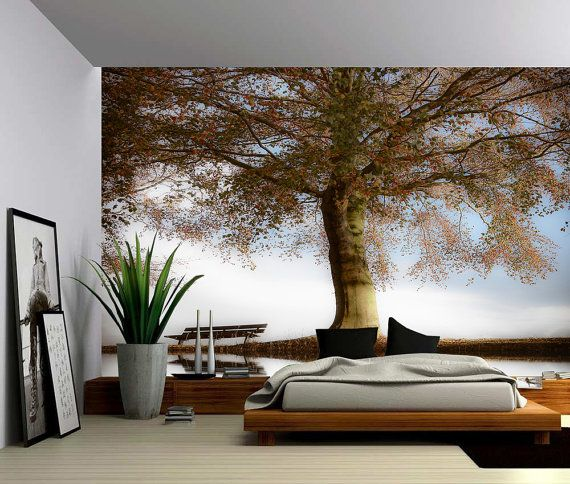 Blossom Tree Of Life   Large Wall Mural, Self Adhesive Vinyl Wallpaper, Peel