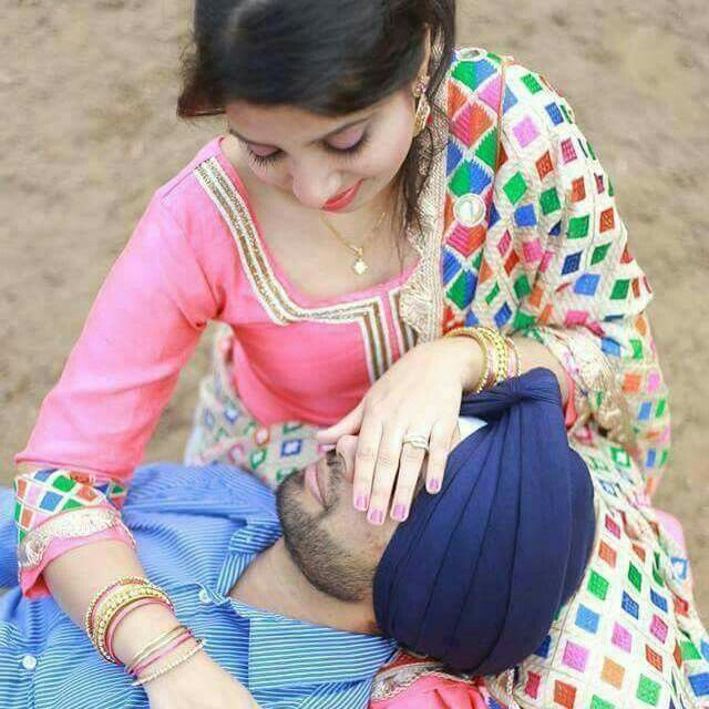 loving punjabi couple More