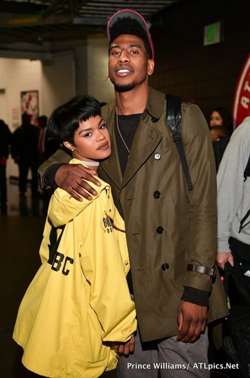 Teyana Taylor & Iman Shumpert Get Loved Up After The Cavs Game + T.I., Future, The Dream & More