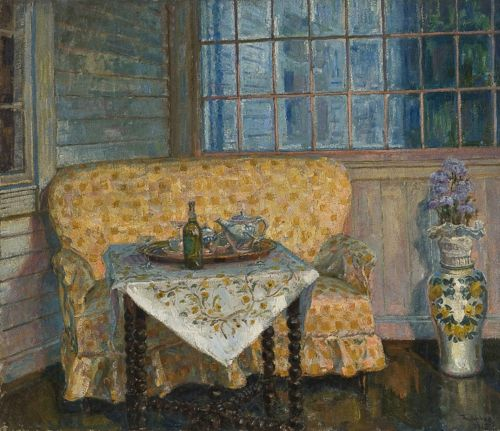 1905 Thorolf Holmboe (Norwegian, 1866-1935) ~ Interior