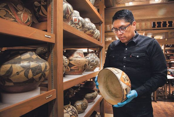 The safety of objects: Museum director Brian Vallo