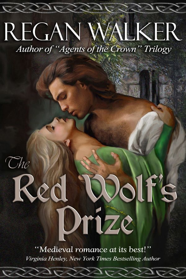 The Red Wolf's Prize by Regan Walker,  medieval romance set in 1068 A.D., two years after the Norman Conquest