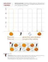 cute halloween math worksheets
