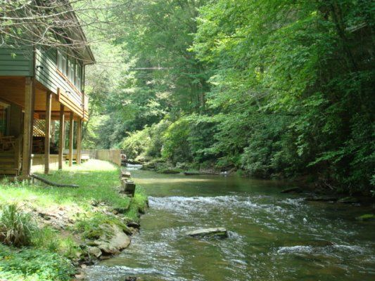Rippling Water Retreat - Blue Ridge Mountain Rentals - Boone and Blowing Rock NC Cabin Rentals