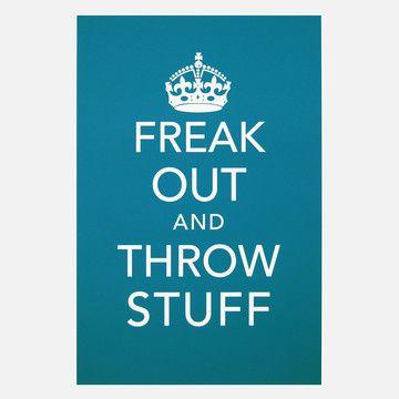 Earmark Social Goods: Freak Out Print