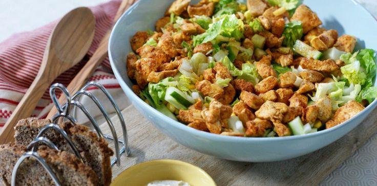 Spicy kyllingsalat – Berit Nordstrand