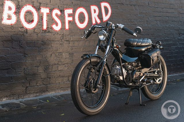 Honda CT110 by Post Modern Motorcycles ~ Return of the Cafe Racers