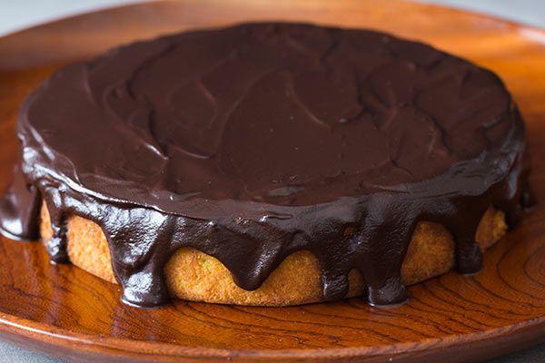 Boiled orange and almond cake with chocolate ganache – Recipes – Bite