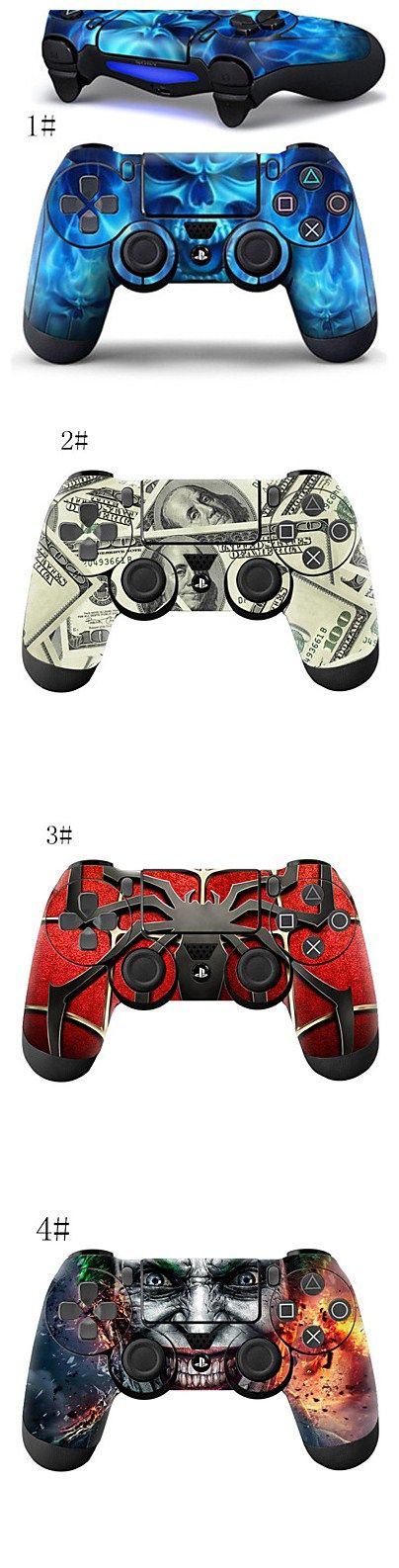 Style Wrap Skin Fits for Sony PS4 Dualshock 4 Controller