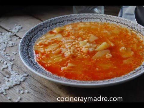 Patatas con arroz - Cocinera y Madre