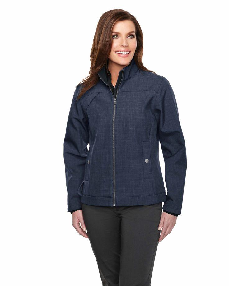 Bonded pull zip jacket TMP smoky, two pocket with snap closure Oakbrook. TrimountainJL6468   #Women #Trimountain #Jacket #Pocket