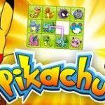 Tai game Pikachu  Là một trong những game cổ điển mà có lẽ không còn ai xa lạ gì với nó nữa Game PiKaChu cực hay  Rất đơn giản nhiệm vụ của trò chơi là tìm các cặp hình giống nhau sao cho đường nối giữa cặp hình đó gấp khúc không quá 2 lần để loại bỏ chúng, màn chơi kết thúc khi loại bỏ được toàn bộ các cặp hình.  Chúc các bạn chơi game Pikachu vui vẻ