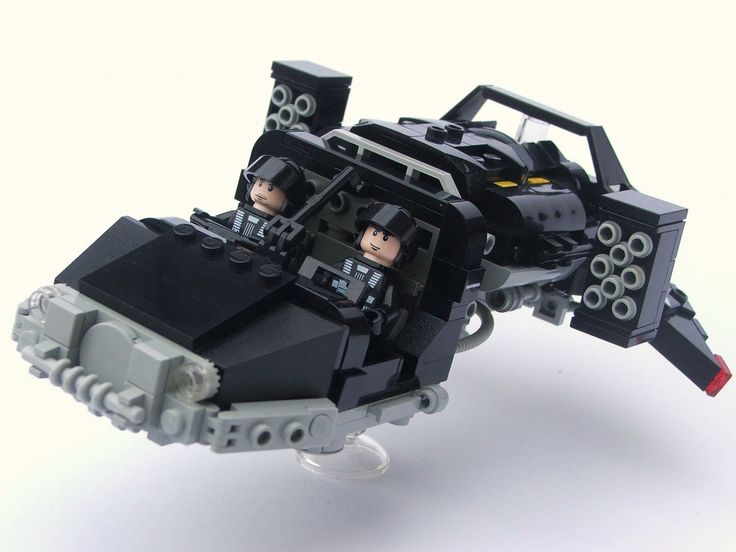 https://flic.kr/p/6uKgi5 | Blacktron Landspeeder Typhoon | My first foray into Neo-Blacktron. Ooh, they're so evil.
