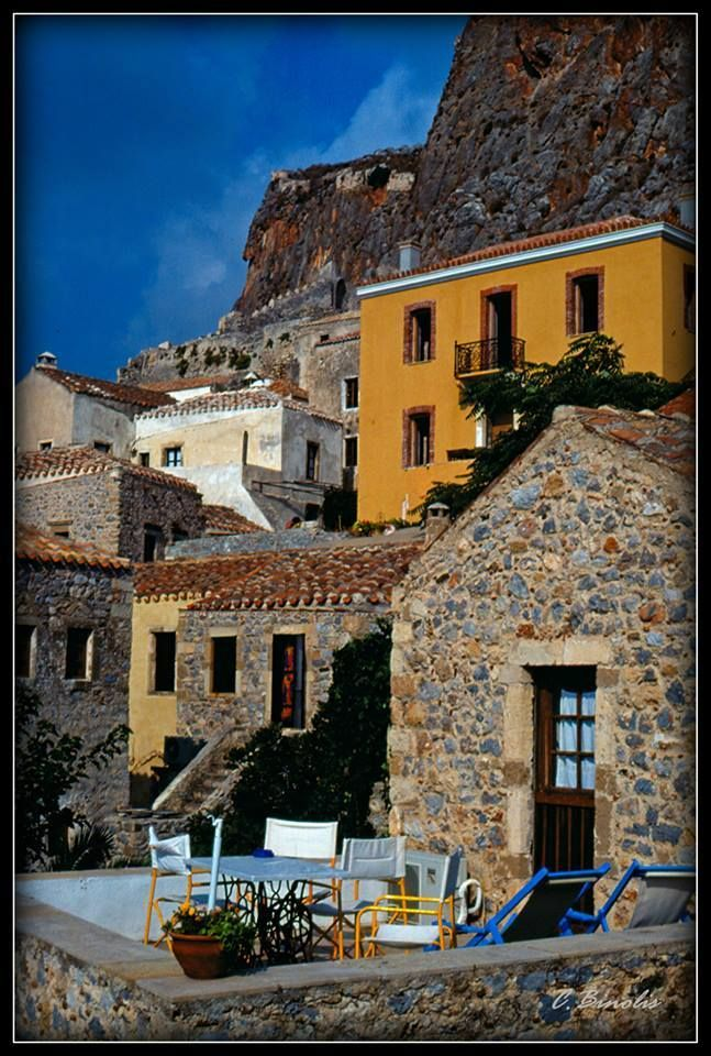 Monemvasia in Peloponnese http://www.discover-peloponnese.com/